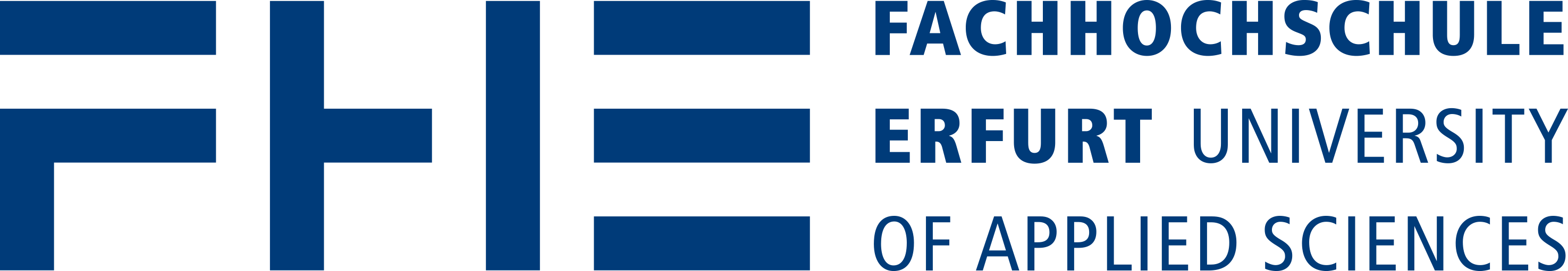 Logo of the Erfurt Uni of Applied Sciences